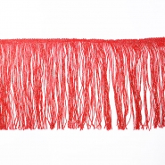 Fringes 25cm, lurex, 00286-2, red