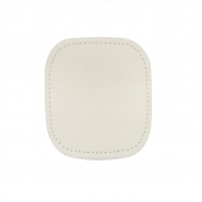 Elbow patches,  chamois, 2 pcs, 00471-07, cream