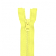 Zipper, divisible 70cm, 6mm, 2052-105A, yellow