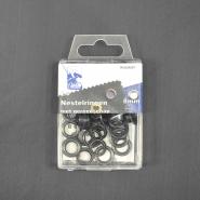 Ringen mit Ausrüstung, 8 mm, 24 Stck, 11572-3, kupfer
