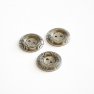 Button, for suits, metal, 22 mm, 15503-6