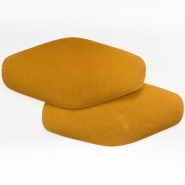 Elbow patches, chamois, 2 pcs, 00391-988, camel
