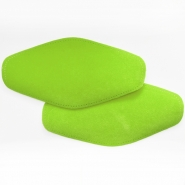 Elbow patches, chamois, 2 pcs, 00391-71, green
