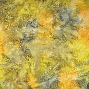 Cotton, poplin, batik, floral, 15651-11