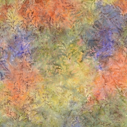Cotton, poplin, batik, floral, 15651-21