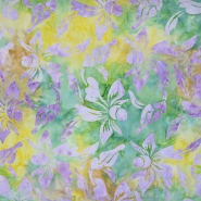 Cotton, poplin, batik, floral, 15652-27