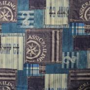 Deco, print, jeans, 15663-35