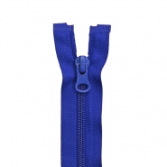 Zipper, divisible 70 cm, 6 mm, 2052-546, blue
