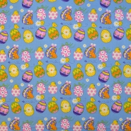 Cotton, poplin, Easter, 15672-003 - Bema Fabrics