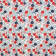 Cotton, poplin, floral, 15680-015 - Bema Fabrics