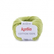 Yarn, Cotton 100%, 14733-20, yellow green