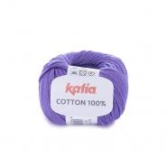 Garn, Cotton 100%, 14733-25, violett