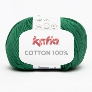 Yarn, Cotton 100%, 14733-33, dark green