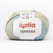 Yarn, Tempera, 15693-50, blue beige