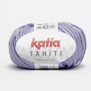 Yarn, Tahiti, cotton, 14737-32, purple