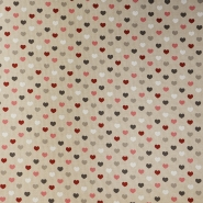 Deco, print, hearts, 15702-8