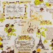 Deko, tisk, romantični, 15707-17