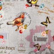 Deko, tisk, digital, romantični, 15746-4