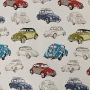 Deko žakard, avtomobili, 15735