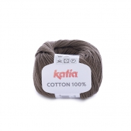 Garn, Cotton 100%, 14733-9, braun