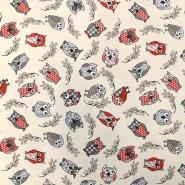 Deco, print, owls, 15756-90
