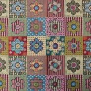 Deko žakard, cvetlični, 15770-48