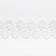 Lace, cotton, 55mm, white - Bema Fabrics
