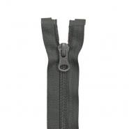 Zatvarač, djeljiv 80 cm, 6 mm, 2 ključka, 2047-850a, siva
