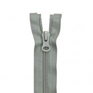 Zatvarač, djeljiv 80 cm, 6 mm, 2 ključka, 2047-820a, siva