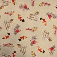Dekostoff, Druck, Spielzeug, 15821