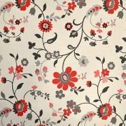 Deko, žakard, cvetlični, 15811
