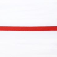 Cotton ribbon, 10mm, 15834-6230, red