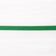 Cotton ribbon, 10mm, 15834-6260, green