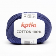 Preja, Cotton 100%, 14733-16, modra