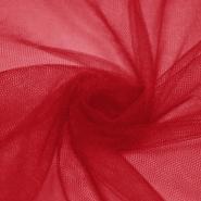 Tulle, fine, 15883-30, red - Bema Fabrics