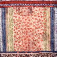 Cotton, thin, geometric, 15849-6 - Bema Fabrics