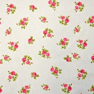 Cotton, poplin, floral, 15914-1