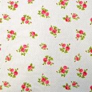 Cotton, poplin, floral, 15914-3