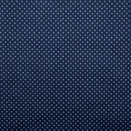 Cotton, poplin, dots, 13984-8