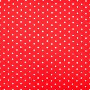 Pamuk, popelin, točkica, 15910-8