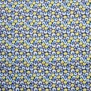 Bombaž, poplin, krogci, 15930-1