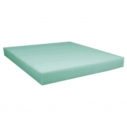 Foam board, PT, thickness 20mm, 13019, green