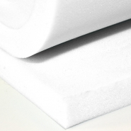 Foam board, PN, thickness 20mm, 12807, white