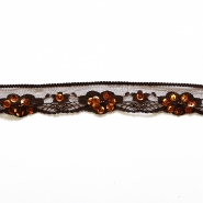 Lace, 28mm, 14165-35, brown