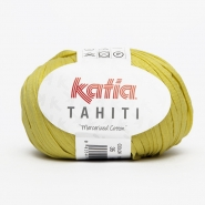 Yarn, Tahiti, cotton, 14737-35, yellow