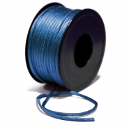 Cord, viscose, 3mm, 15462-3047, blue