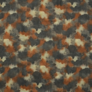 Fabric, viscose,  camouflage, 15862-10