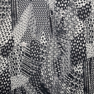 Chiffon, polyester, geometric, 15005-5
