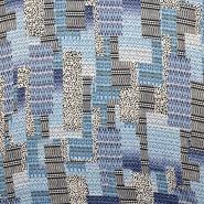 Chiffon, polyester, geometric, 15005-6 - Bema Fabrics
