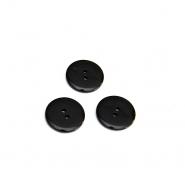 Knopf, klassisch, schwarz, 20mm, 15952-0014